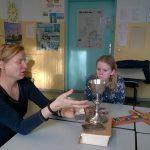 LER Unterricht mit der Pfarrerin Frau Müller