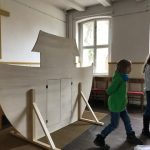 """Theaterstück """"An der Arche um Acht"""", Probe"""